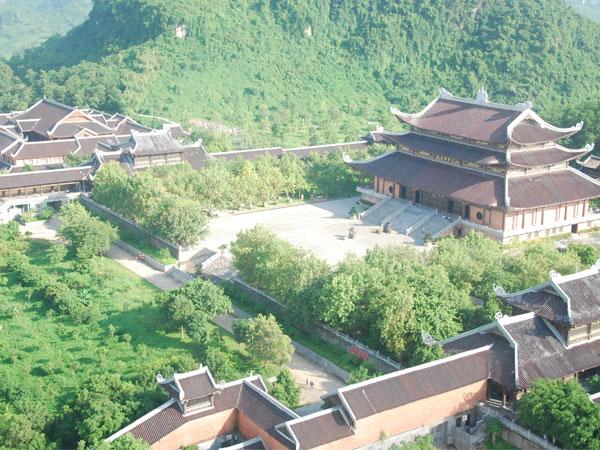 Toàn cảnh ngồi chùa Bái Đính